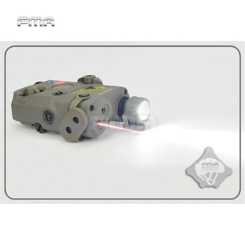 FMA PEQ-15 LA5 Version mise à niveau LED lampe de poche blanche + laser rouge avec lentilles IR fusil de chasse tactique Airsoft boîte de batterie TB0074 - 3