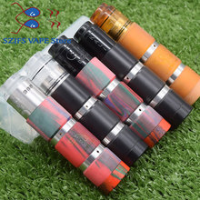 E cigarette Mechanical mod kit Mech MOD 510 sob mod kit with QP KALI V2 25mm RDA 18650 battery Vape vaporize Mod VS Tauren Mech