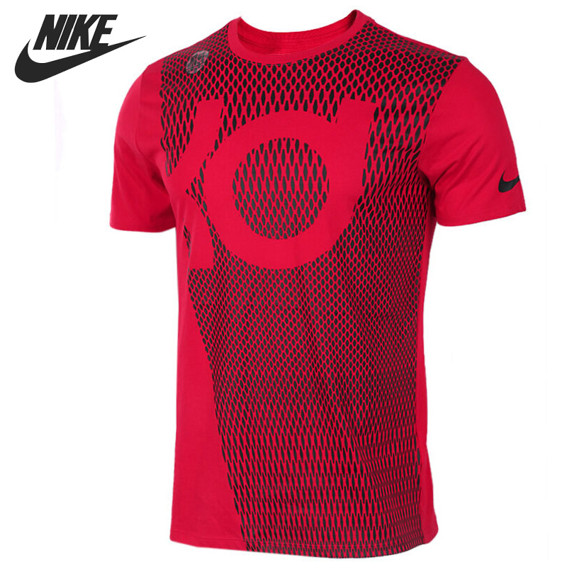 Original New Arrival 2017 NIKE Mens AS KD M NK DRY TEE KD NET T-shirts short sleeve Sportswear