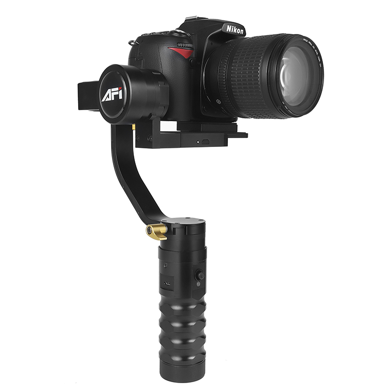 Stabilizer For Camera VS 3SD 3 Axis Handheld Gimbal Video DSLR Mobile Soporte Brushless For Canon Nikon with Servo Follow Focus-in Stabilizers from Consumer Electronics    1