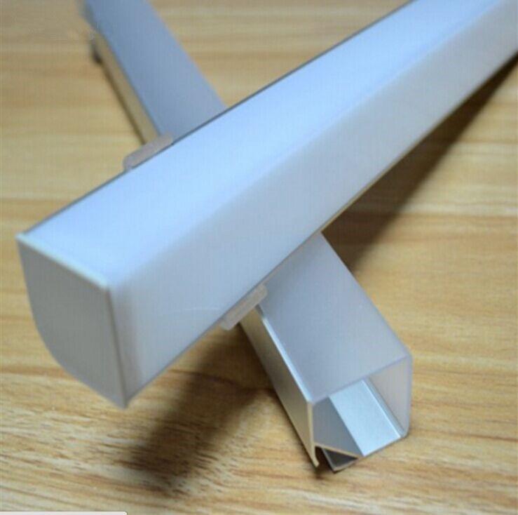 Kitchen Under Cabinet Counter Led Lighting Free Shipping: Corner Mount Aluminum LED Strip Light Fixture Kitchen
