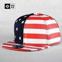 New Arrival American Flag Star Striped Baseball Caps For Men And Women Flat Brim Sport Hip