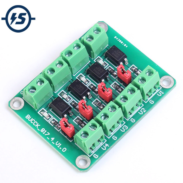 Aliexpress.com : Buy PC817 4 Channel Optocoupler Isolation Board ...