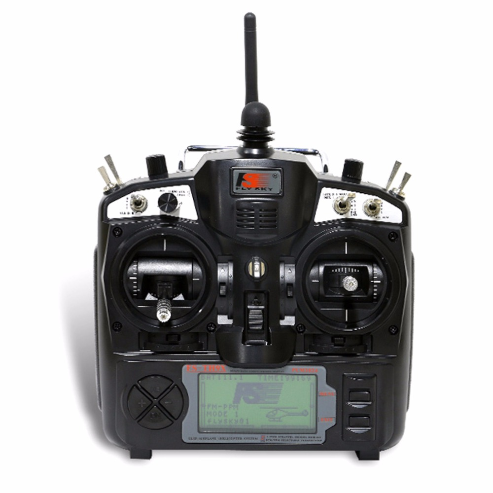 Flysky 2.4G 9ch FS FS-TH9X Transmitter & Receiver Combo TX RX Control System For RC Helicopter Airplane F02146 flysky fs th9x fs th9x 2 4g 9ch radio set system tx fs th9x rx fs ia10b rc 9ch transmitter receiver