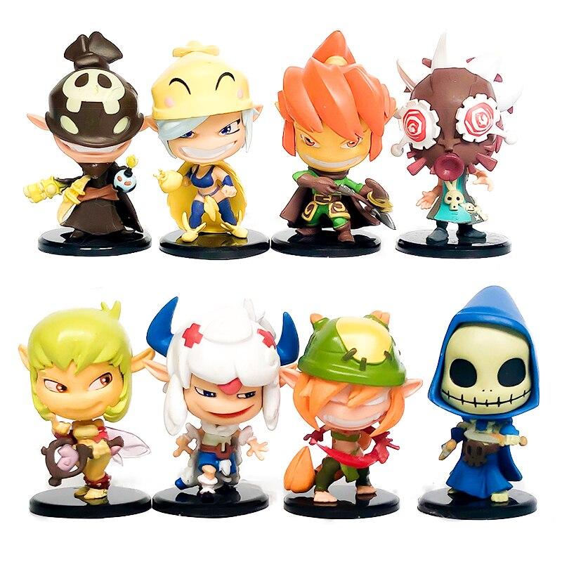 FGHGF Krosmaster Arena 2012 Edition Dofus Miniature Action Figures Toys Kid Decoration Gift