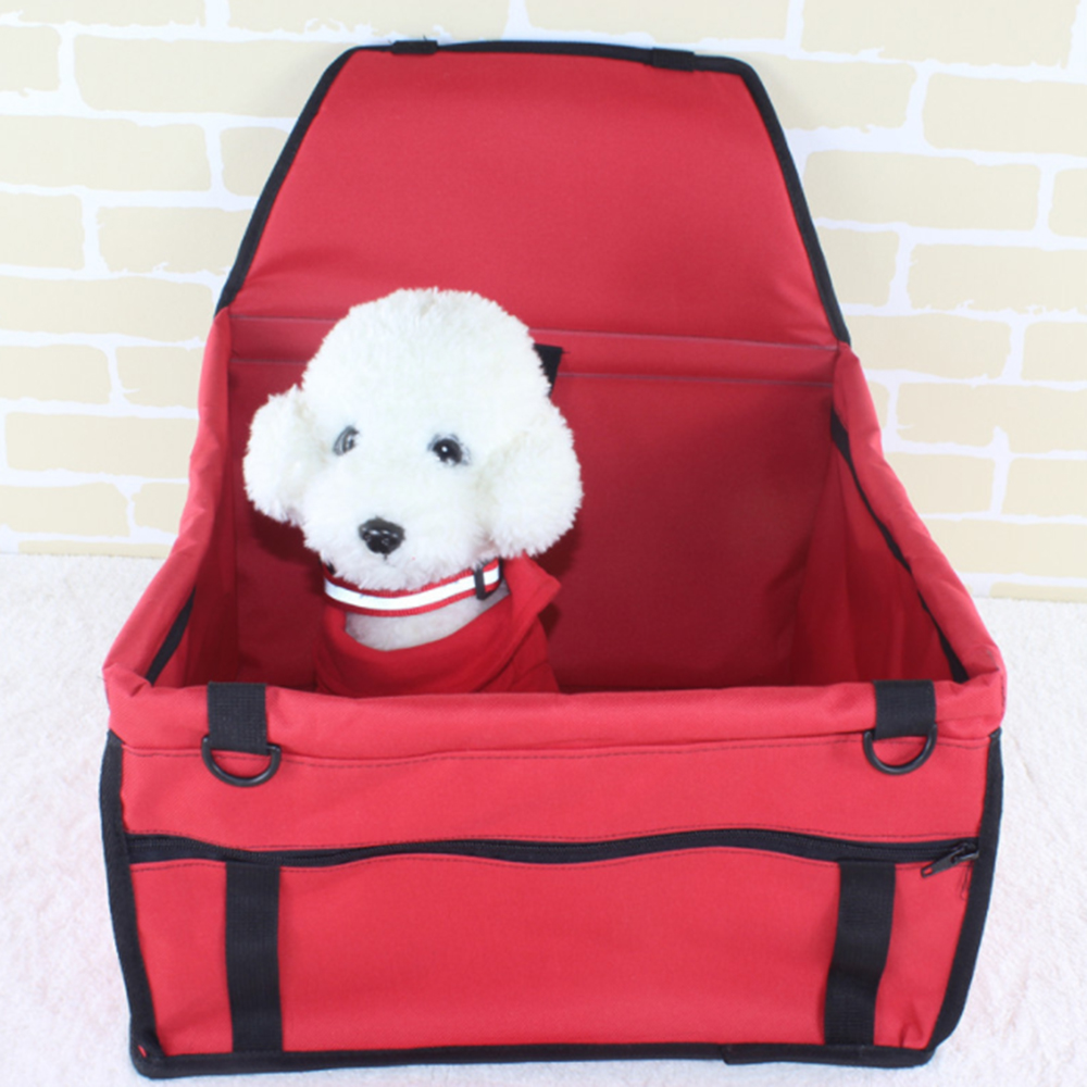 Travel Dog Car Seat Folding Waterproof Oxford Cloth Pet Protector Mat Washable Car Safety Pad for Small Dog Pet Dog Carrier