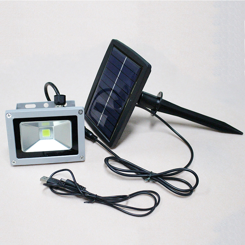 New Led Solar Flat Panel Flood Light 10w Outdoor Lighting Project Lamps Led Solar Power Lights