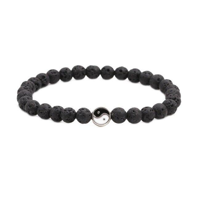 Men Bracelet Black Natural...