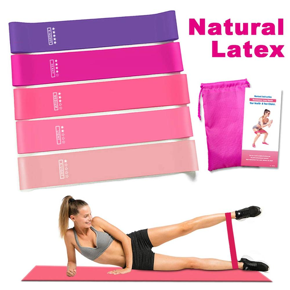 Resistance Bands Fitness Natural Latex Workout Bands Expander Elastic Bands For Fitness Exercise Equipment Workout Crossfit Yoga