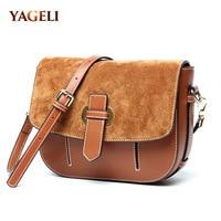100 Genuine Leather Women S Crossbody Bags Famous Brands Designer Ladies Handbags High Quality Ladies Shoulder