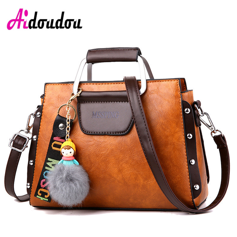 Crossbody Bags For Women Designer Handbags Women Famous Brands PU Leather High Quality Shoulder Bag Vintage Luxury J0506AC ysinobear fashion classic ladies handbags women famous brands designer 2018 luxury high quality black pu leather shoulder bags