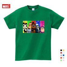 цена на Boys and Girls Game Hello Neighbor Pattern T Shirt Kids Casual Funny Clothes T-shirts Baby Summer Short Sleeve T-shirt 3-12Years