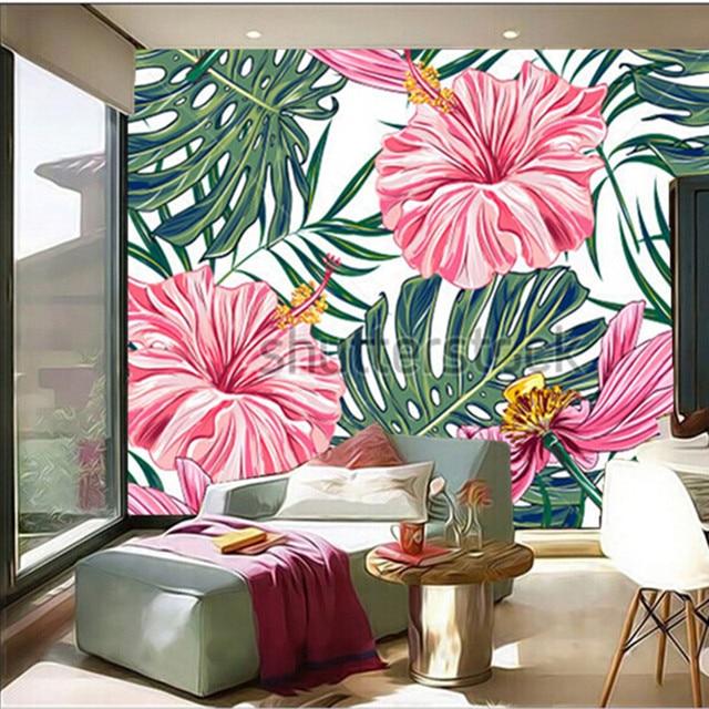 Modern Tropical Living Room Decorating Ideas Photo - Living Room ...