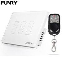 Funry US Standaard 3 Gang Remote Switch Smart Control Aan Uit Voor Smart Home Slimme Schakelaar