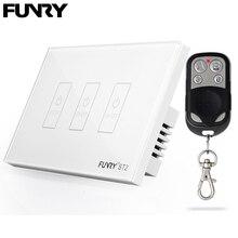 Funry US standaard 3 gang remote switch, Smart Control aan-uit voor Smart Home, slimme Schakelaar, Smart Lamp Schakelaar