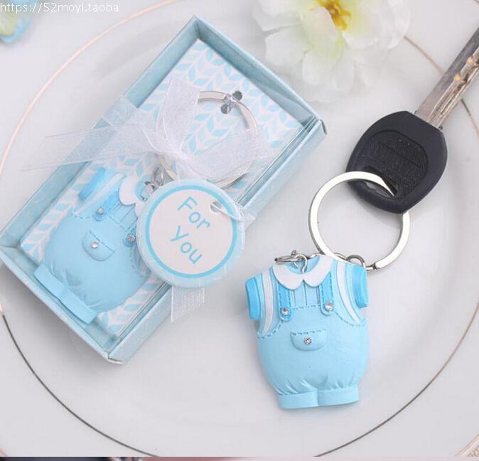 200pcss Baby Clothes Keychain Party Favors Baby Shower Gifts Wedding Favors  And Gifts Guests Gift Box Giveaways In Party Favors From Home U0026 Garden On  ...