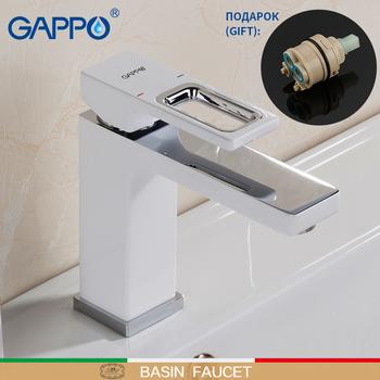 GAPPO bateria umywalkowa baterie łazienkowe baterie wodospad baterie łazienkowe baterie łazienkowe baterie łazienkowe griferia tanie i dobre opinie Baterie umywalkowe Pojedynczy uchwyt i pojedynczy otwór G1017-8 Zawór ceramiczny Basin Faucet 2 kg ZAMONTOWANE NA PANELU