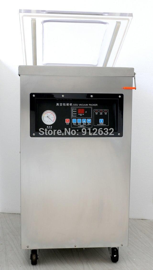 Machine de cachetage de sac en plastique de Machine de scelleur de vide de chambre simple de DZ400S