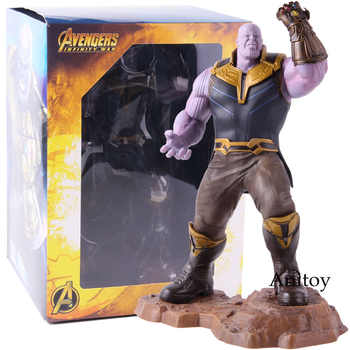Marvel Avengers Infinity War Thanos Artfx+ Statue 1/10 Scale Pre-pained Thanos Avengers Endgame Figure Collectible Model Toy - Category 🛒 Toys & Hobbies