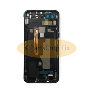 Image 2 - Original ด้านหลัง OnePlus A5010 5T ฝาครอบด้านหลังเคสประตู One Plus เปลี่ยน OnePlus 5T ฝาครอบ