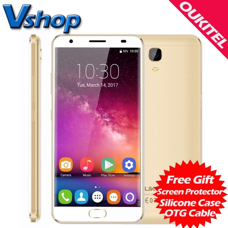 Original OUKITEL K6000 Plus 4G Mobile Phones Android 7.0 4GB RAM 64GB ROM 1080P 16.0MP Camera 5.5 inch Dual SIM Cell Phones