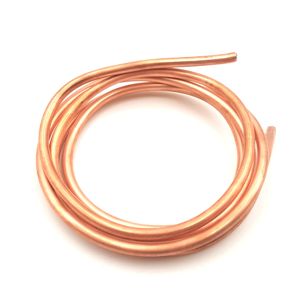 1 Meter T2 Copper Tube Fitting 4 X 3MM Radiating Tube Heat Transfer Tubes For Notebook Water-cooled Accessories