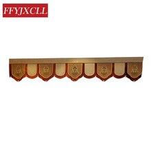 Home Decoration 1 Piece Pelmet Europe Luxury Valance Curtains for Living Room Window Bedroom Custom Made