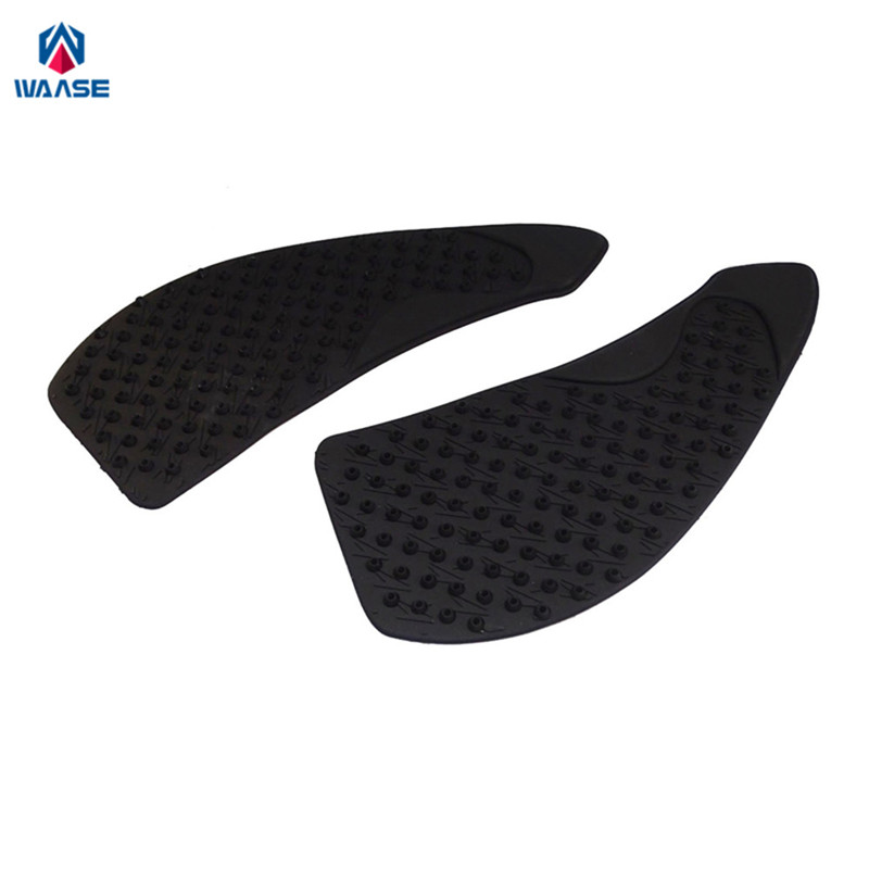 waase Motorcycle Tank Pad Protector Sticker Decal Gas Knee Grip Tank Traction Pad Side For Kawasaki <font><b>Z1000</b></font> <font><b>2007</b></font> 2008 2009 image