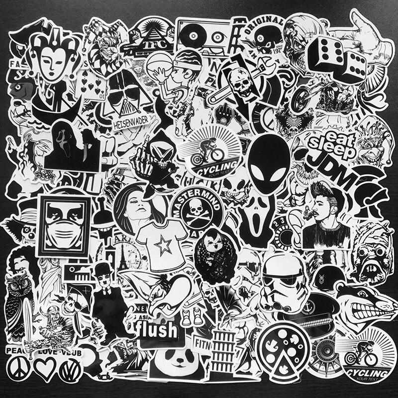 black and white 120pcs 2gai