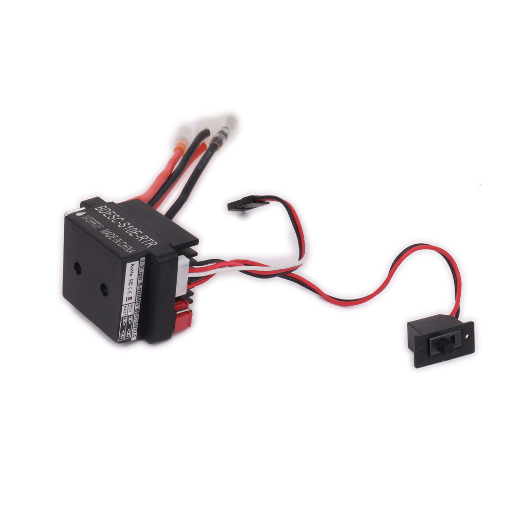 1PC 320A 320Amp Waterproof Hv High Voltage Brushed Esc Electronic Speed Controller For Rc Model Car Boat Hsp Traxxas ArrmaTD-007 wholesale 1pcs 320a high voltage esc brushed speed controller rc car truck buggy boat newest drop free shipping