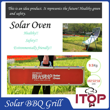 New Arrival!  Solar Oven BBQ Grill Green Portable Barbecue Stove Environmentally friendly Outdoor Tool Roast Kebab Making ITOP