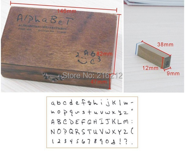70 pcs/set Wooden Stamps AlPhaBet digital and letters seal standardized form stamps 14.6*8.6*5cm 2 styles printio юбка карандаш укороченная