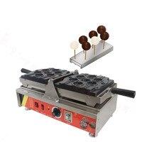 220 v/110 v antiaderente estilo alemão comercial elétrica lollipop bolo waffles máquina pop muffin waffle máquina panqueca
