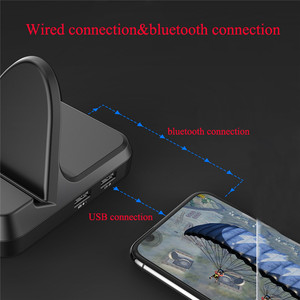 Image 2 - PUBG モバイルコントローラコンバータ ios アンドロイド PUBG モバイルキーボードマウス変換ジョイスティックゲームパッド Bluetooth USB 周辺機器