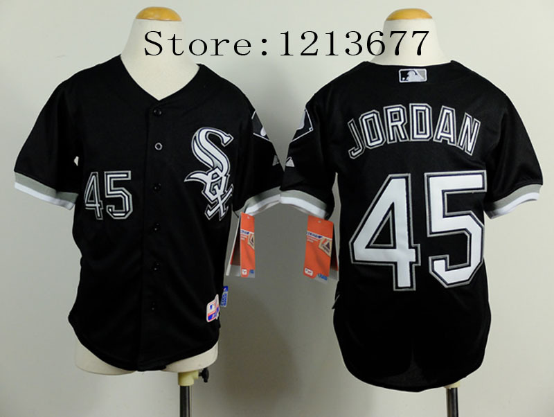 promo code da1ba 88cdf 45 Michael Jordan Jersey Chicago White Sox Jerseys Men Cool ...
