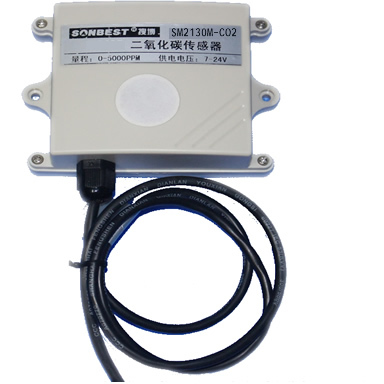 4-20mA SM2130M-CO2 Current Type CO2 Sensor Transmitter Built In MH-Z14