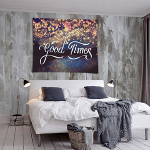 Image 4 - Nordic Headboard Cartoon Cactus Tapestry Wall Hanging Tropic Banana Leaf Whale Fish Sunflower Home Decoration Background Cloth