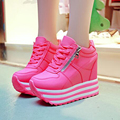 Women Pumps Super High Heels 11CM  Lace Up White Casual Shoes For Girls Ladies Women's Party Pump Chaussure Femme
