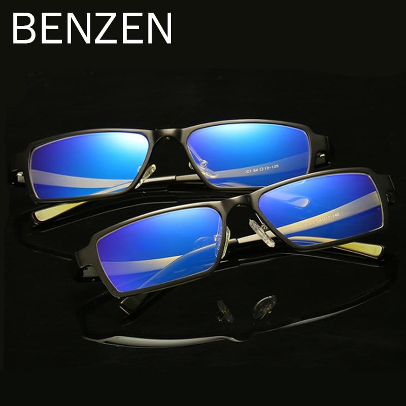 BENZEN Anti Blau Rays Computer-brille Readers Lesegläser Al-MG Rahmen Gläser 6gaP9JkpuU
