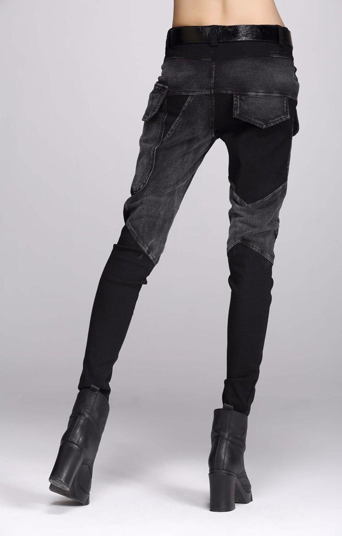 Aliexpress.com : Buy free shipping Europe Sexy Black jeans woman ...