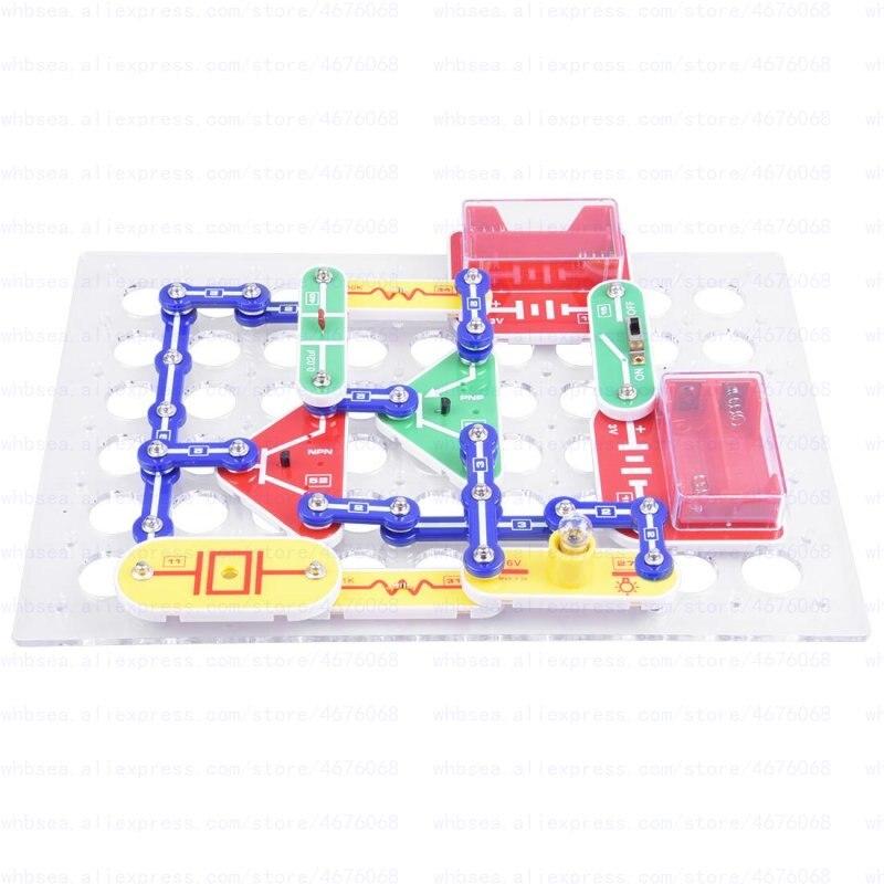 Angemessen Kostenloser Versand Elektronische Bausteine Snap Schaltungen Projekte Pädagogisches Wissenschaft Kit Spielzeug 668 Experimente
