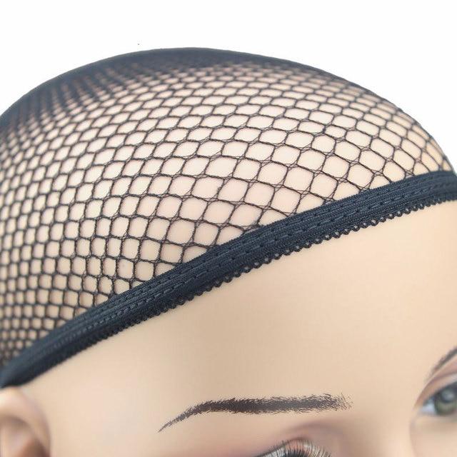 Aliexpress Buy 6 200pcs Fish Hairnets Wig Cap Black Hair