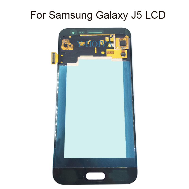 Y-HOIVA pour Samsung J5 LCD affichage pour Galaxy J500 J500F J500Y J500M J500G LCD écran tactile numériseur assemblée pièces de rechange