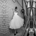 Бесплатная Доставка Халат де mariage Невесты Платья Ремни Милая vestido де noiva 2016 Элегантный Короткие Свадебные Платья