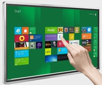 70 84 98 Inch TFT Led LCD Full HD Touch Interactive Panel Display Tv Computer All