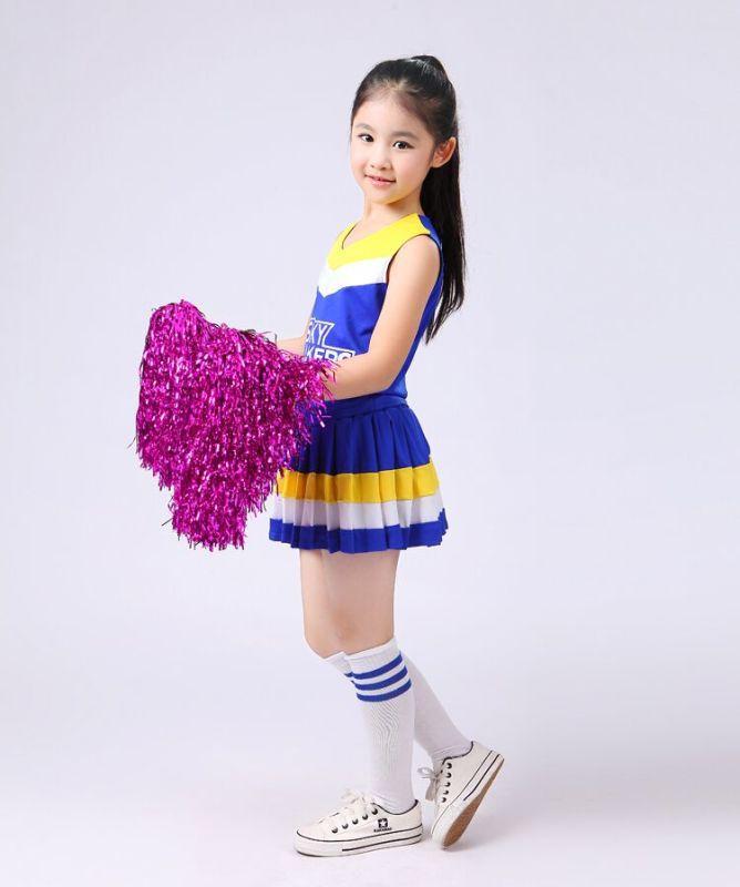 Performance Clothes Jazz For Girls Cheerleading Costume Children Hip Hop Kids Street Children Performance Cheerleader Costume