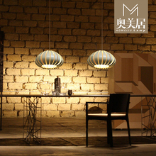 Современный дом белый / черный / оранжевый цвет Pumpink подвеска свет столовая Vibia цитрусовые подвесной D500MM бесплатная доставка