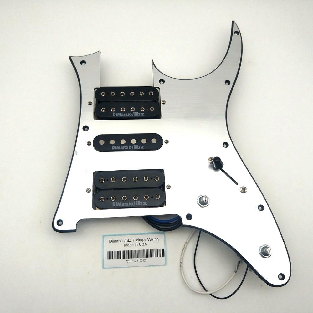 IBZ Dimarzi Alnico Pickups Black Ib RG2550Z Electric Guitar Pickup N M B 1 Set