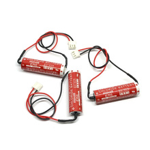 6pcs/lot New Genuine Maxell ER6 3.6V 2000mah Horned Lithium Li-ion Battery PLC Batteries with White Plug