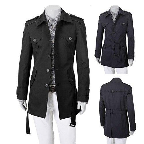 Online Shop Autumn Winter Fashion Slim Lapel Single Breasted Thin ...
